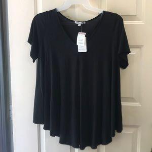 🌻deal day sale Nice black short sleeve 1x top